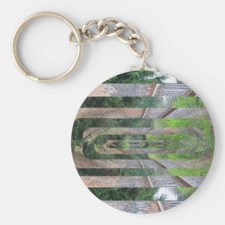 Poloyscape Art Keychain