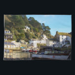 "Polperro Cornwall England Kitchen Towel<br><div class=""desc"">Polperro is a picturesque fishing village with a pretty harbour in south east Cornwall. The narrow winding lanes filled with lovely old cottages and interesting buildings. The village has a history of smuggling as well as fishing dating back centuries. Polperro Cornwall &#169; 2014 www.zazzle.co.uk/poldarkcountry*</div>"
