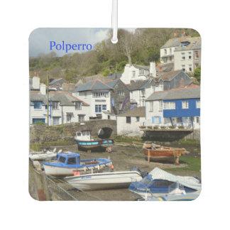 Polperro Cornwall England Low Tide
