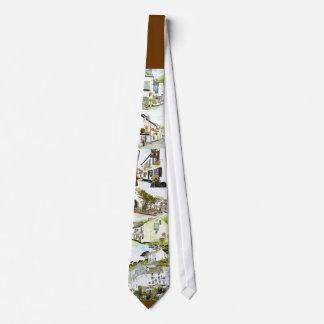 'Polperro Pubs' Tie