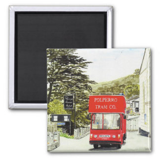 'Polperro Tram' Magnet