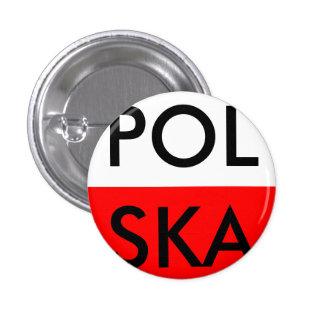 Polska badge pinback button