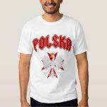 Polska Eagle Red Maltese Cross Tee Shirt