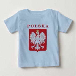 Polska Eagle Red Shield Baby T-Shirt