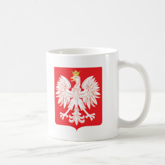 Polska Eagle Red Shield Coffee Mug