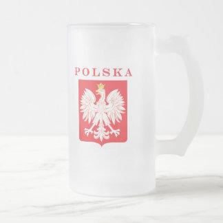 Polska Eagle Red Shield Coffee Mug