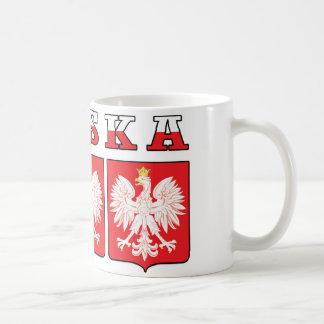 Polska Eagle Shields Coffee Mug