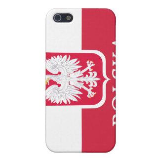 Polska Flag Coat of Arms White Eagle  Cover For iPhone SE/5/5s