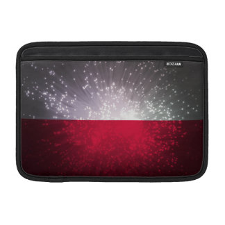 Polska flaga MacBook air sleeve