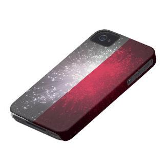 Polska flaga iPhone 4 case