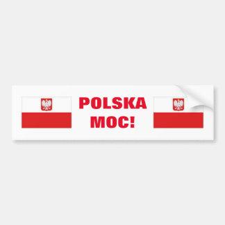 POLSKA MOC! BUMPER STICKER