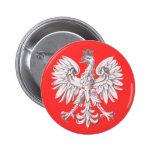 Polska Pinback Button