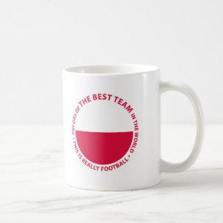 Polska Poland Art Shield Classic White Coffee Mug