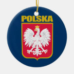 Polska (Poland) COA Christmas Tree Ornaments