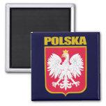 Polska (Poland) COA Fridge Magnets