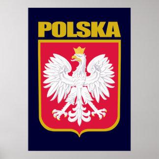Polska (Poland) COA Poster