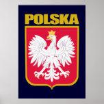 Polska (Poland) COA Posters