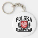 Polska Poland Keychain