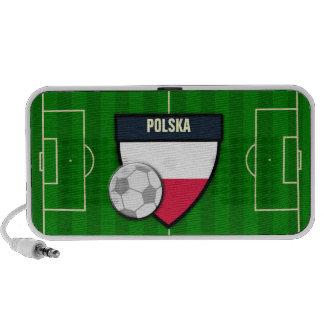 Polska Poland Soccer Flag Football Speaker