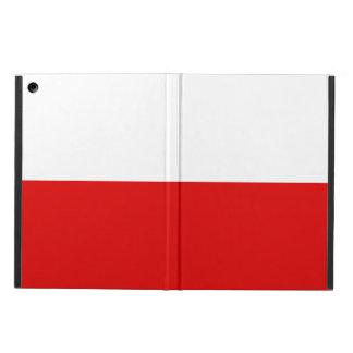 Polska Polish Flag Cover For iPad Air