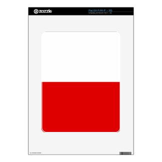 Polska Polish Flag Decal For The iPad