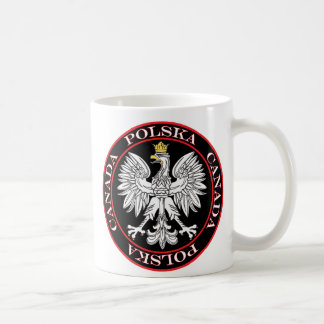 Polska redondo Canadá Eagle Taza Clásica