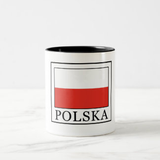 Polska Two-Tone Coffee Mug