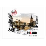 Polska - Varsovia 1980-1900 Postales