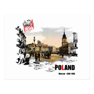Polska - Varsovia 1980-1900 Tarjetas Postales