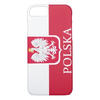 Polska White Eagle Flag iPhone 8/7 Case