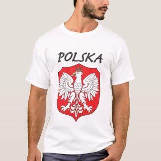 Polska White Eagle on Shield T-Shirt