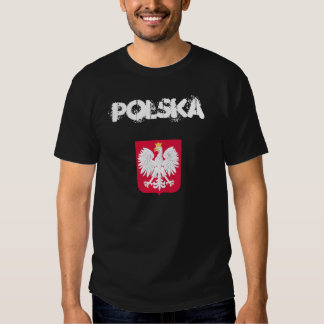 POLSKA with coat of arms T-shirt
