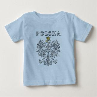 Polska With Polish Eagle Baby T-Shirt