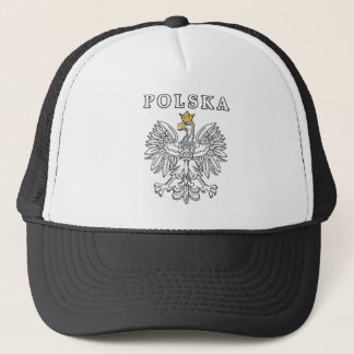 Polska With Polish Eagle Trucker Hat