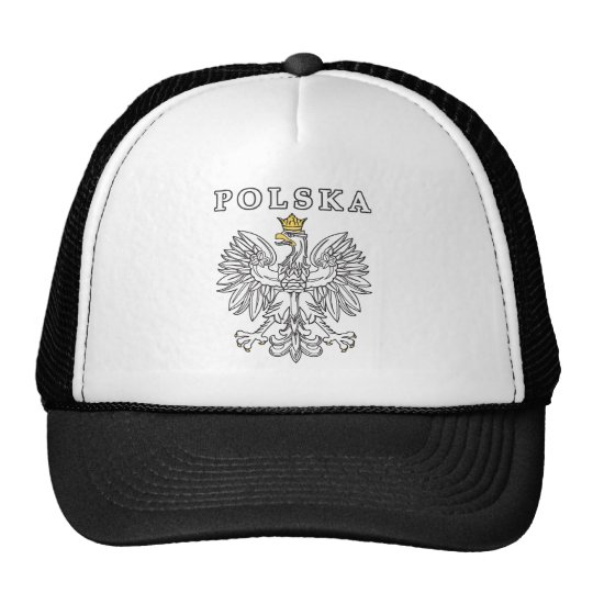 Polska With Polish Eagle Trucker Hat