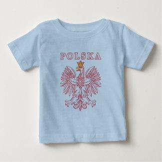 Polska With Red Polish Eagle Baby T-Shirt