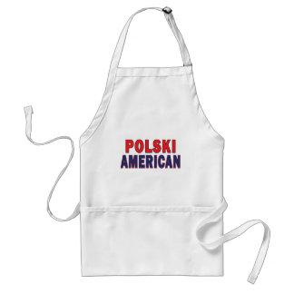 Polski American Adult Apron