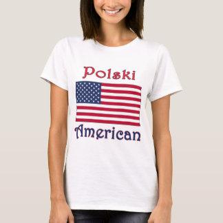 Polski American Flag T-Shirt