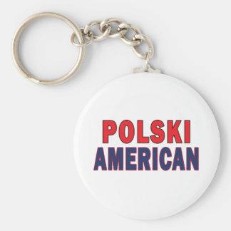 Polski American Keychain