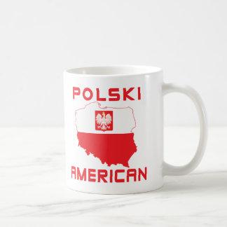 Polski American Map Coffee Mug