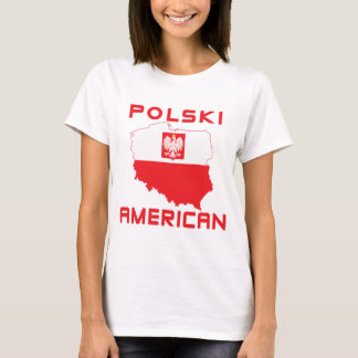 Polski American Map T-Shirt