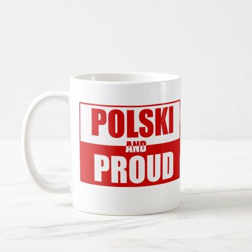 Polski and Proud Classic White Coffee Mug