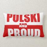 Polski and Proud MoJo Pillow