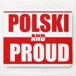 Polski and Proud Mouse Pad