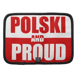 Polski and Proud Rickshaw Folio Case Organizers