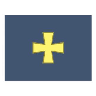 Poltava Oblast Ukraine flag Postcards