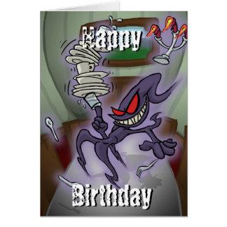 Poltergeist Birthday Card