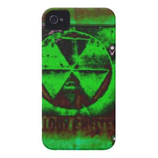 Polvillo radiactivo en el cielo carcasa para iPhone 4