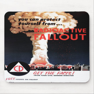 """""""Polvillo radiactivo radiactivo"""" Mousepad"""