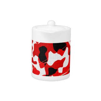 Polvillo radiactivo rojo Camo (diseño de AOM)